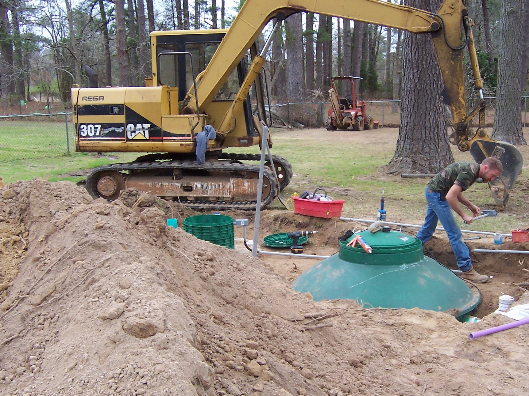 Septic Install